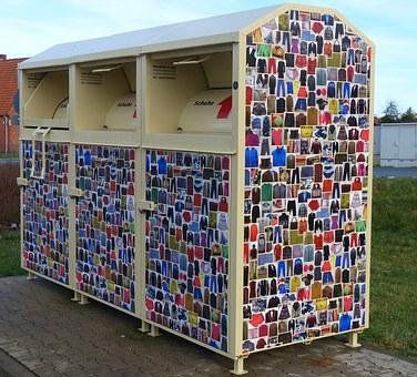 Altkleider Container wie beim MAGAZIN in Emmelshausen