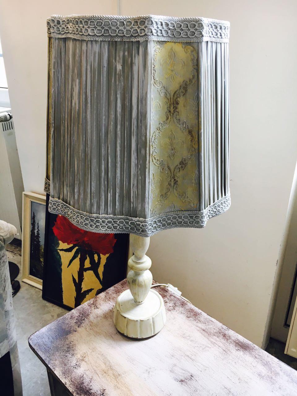 Vintage Lampe aus Upcycling im MAGAZIN Nähe Koblenz