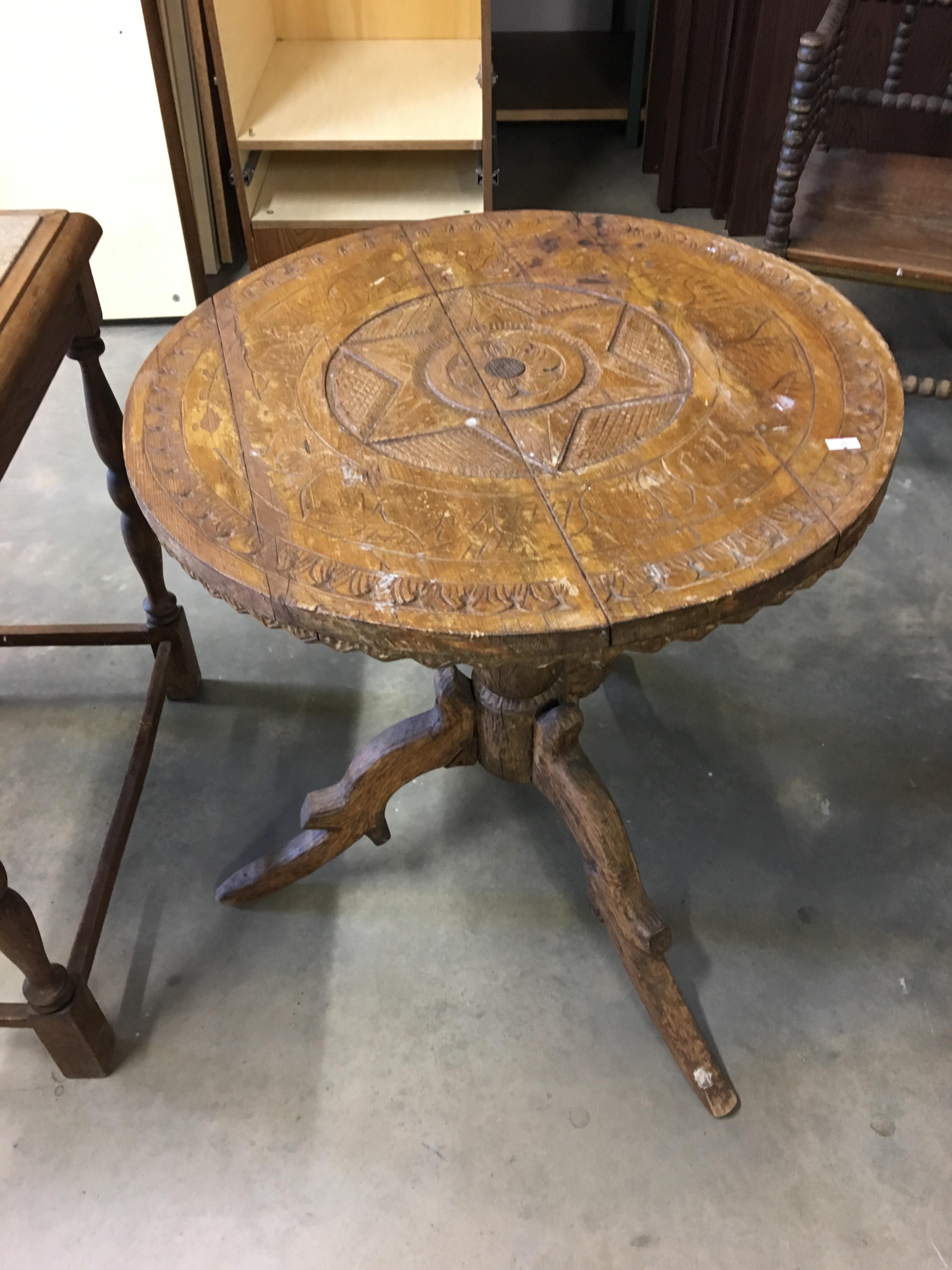 Gebrauchter antiker Tisch Möbel Koblenz