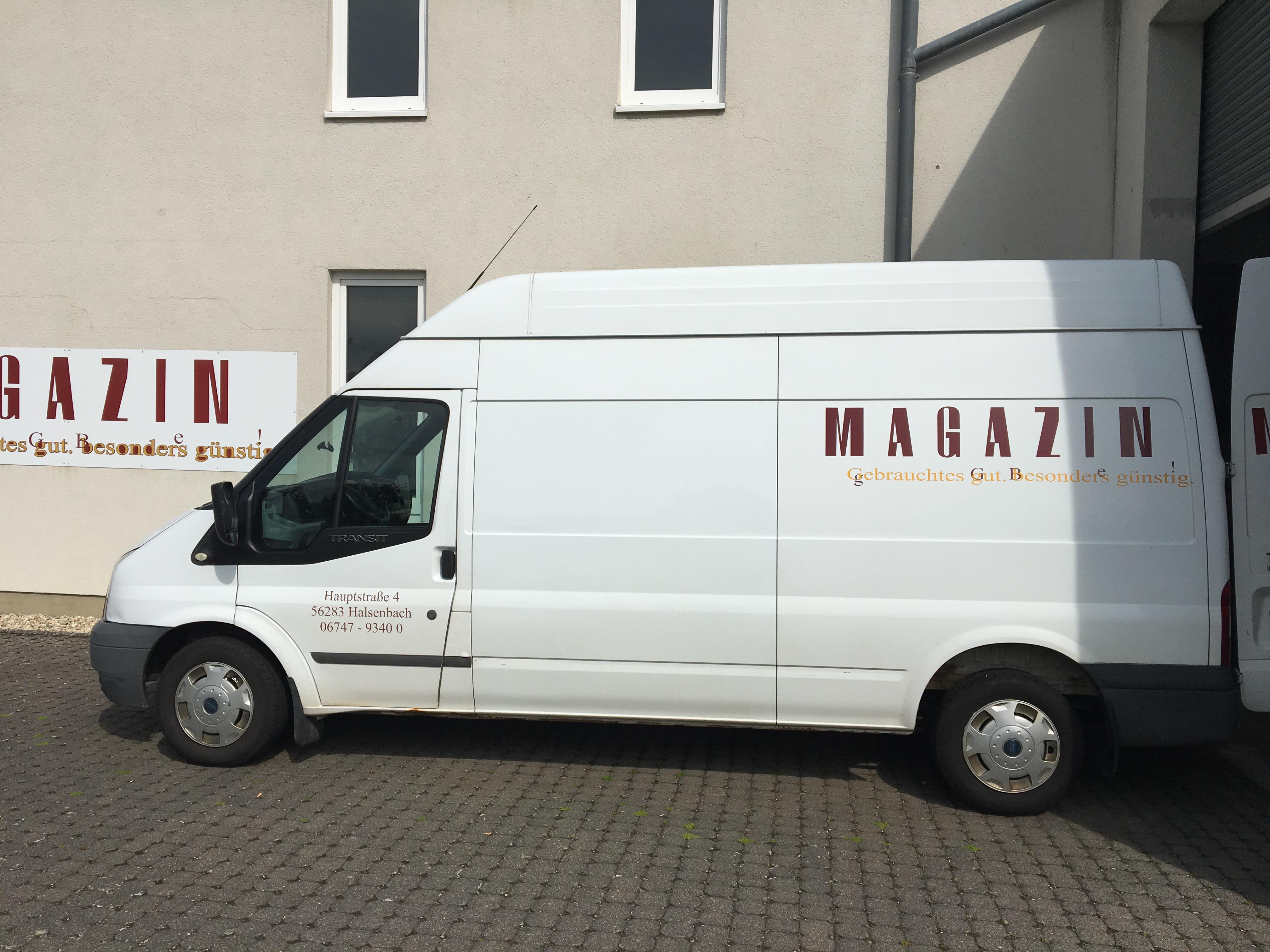Wir holen Ihre Spende auch ab | MAGAZIN Nähe Mainz