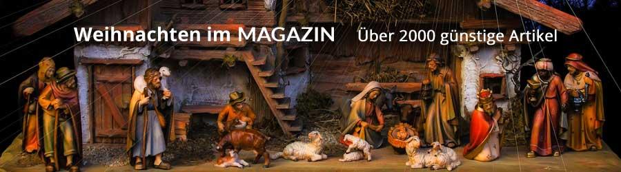 Weihnachten im MAGAZIN-Halsenbach - über 2000 günstige Artikel