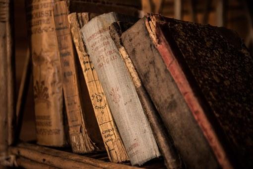 Alte Bücher Duden im Magazin