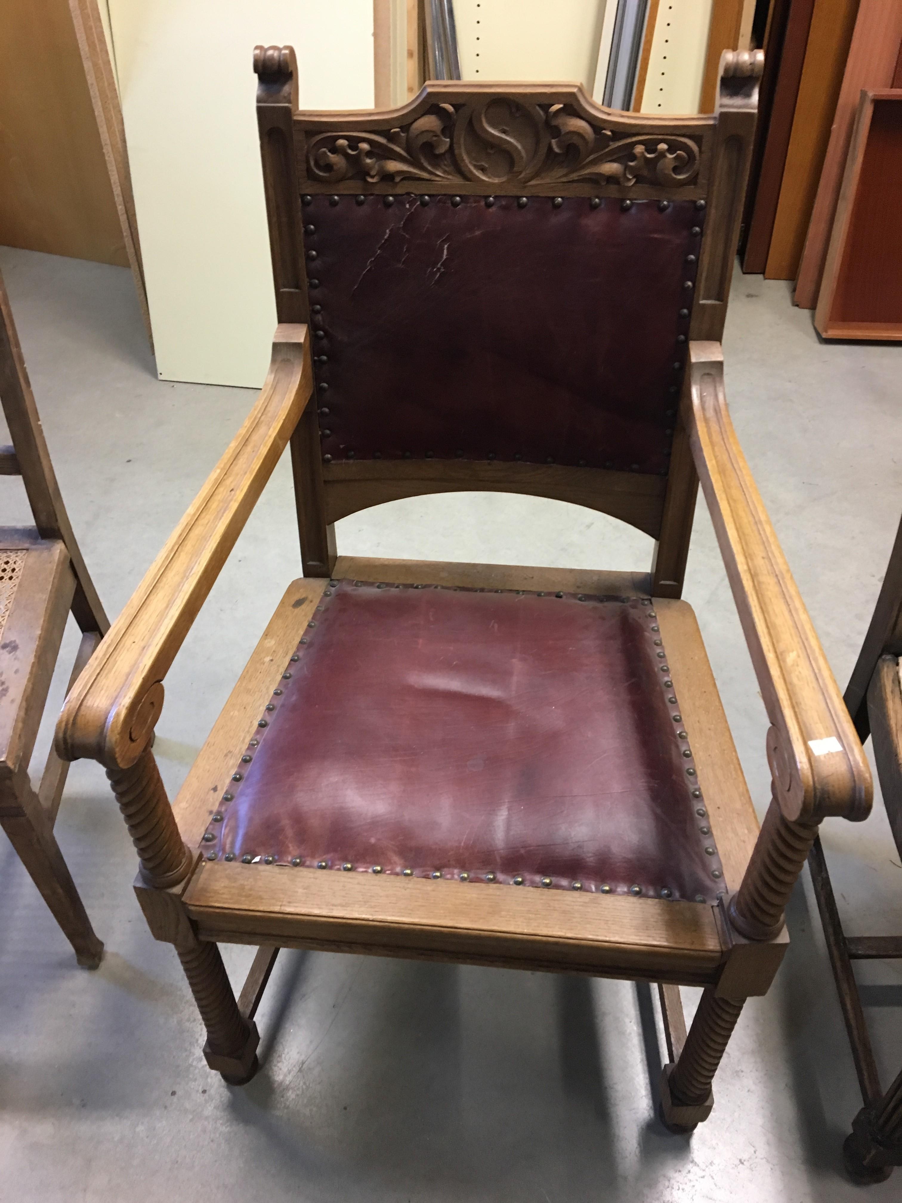 Antiker gebrauchter Stuhl Möbel für Koblenz