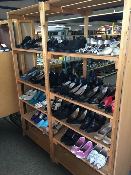 Schuhe gebraucht aus MAGAZIN SecondHand