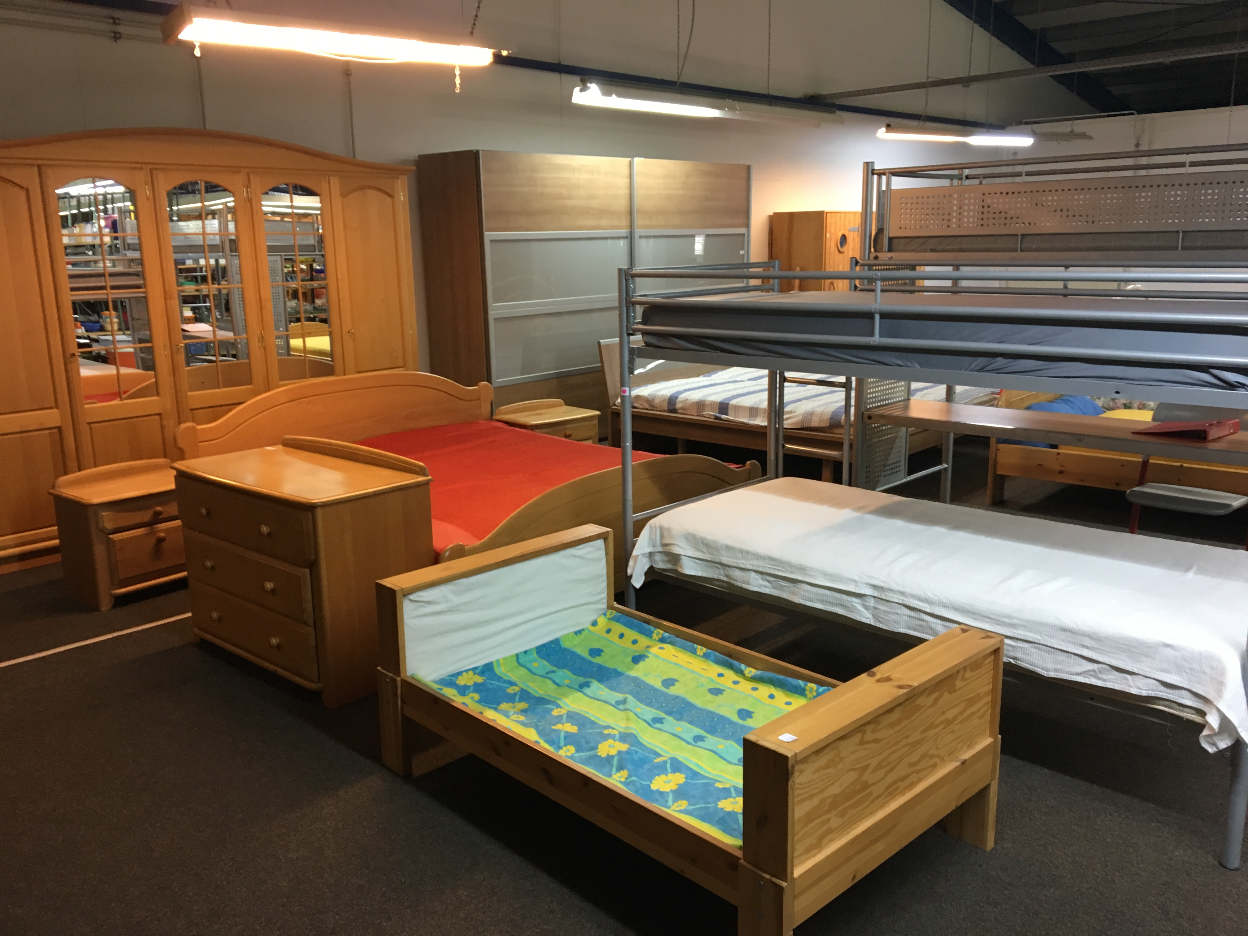 Hochbett Kinderbett gebraucht MAGAZIN bei Koblenz