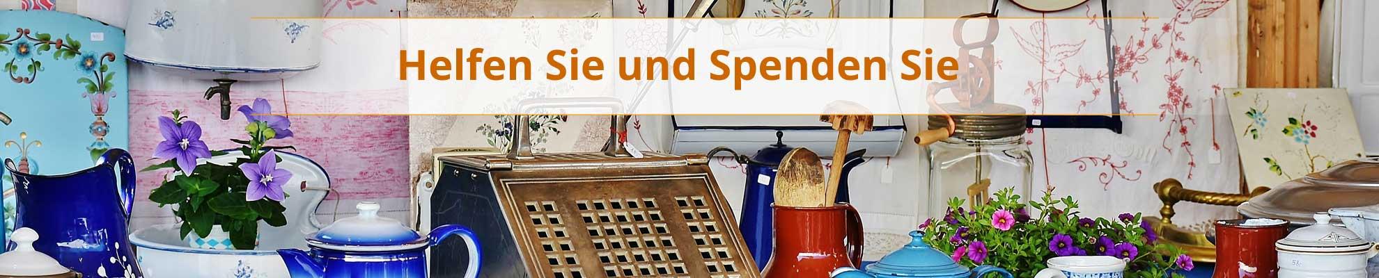 Magazin Halsenbach - Helfen und Spenden