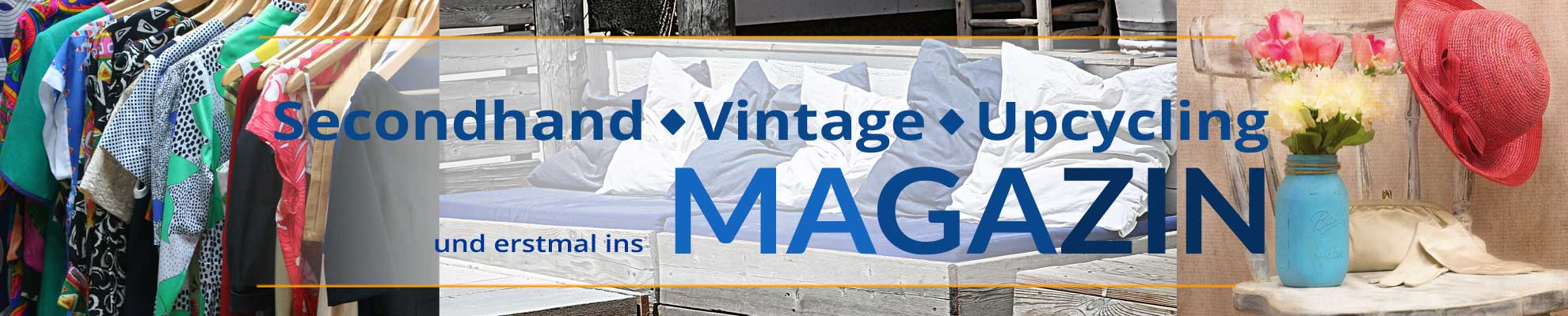 Magazin Halsenbach - Upcycling Secondhand
