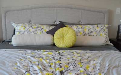 Schlafzimmer im Magazin Halsenbach